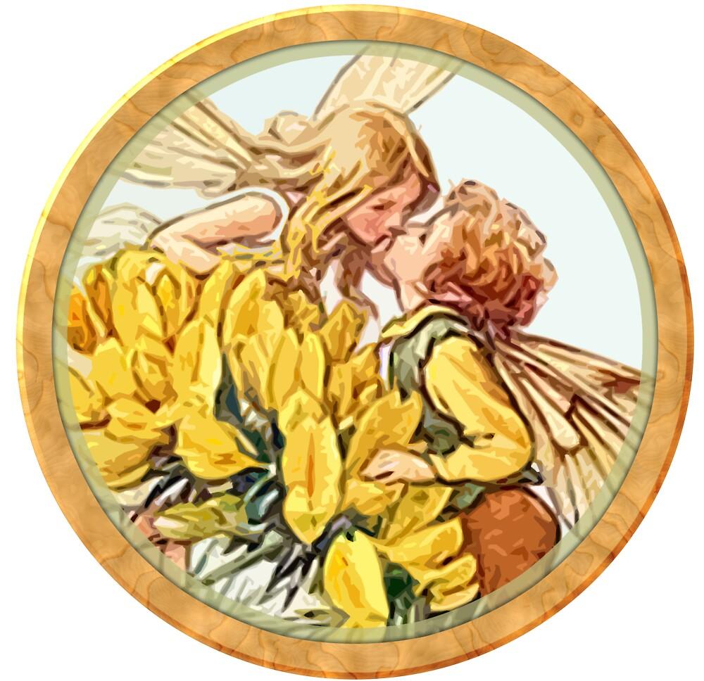 Fairy kiss by Rob Hopper