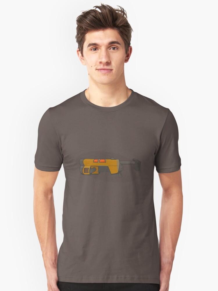 Railgun Unisex T-Shirt Front