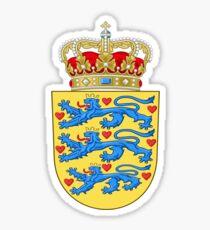 Coat of Arms of Denmark Sticker