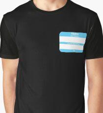 Hello, My PRONOUNS Are (Transmale Blue) Graphic T-Shirt