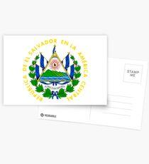 Armoiries d'El Salvador Cartes postales