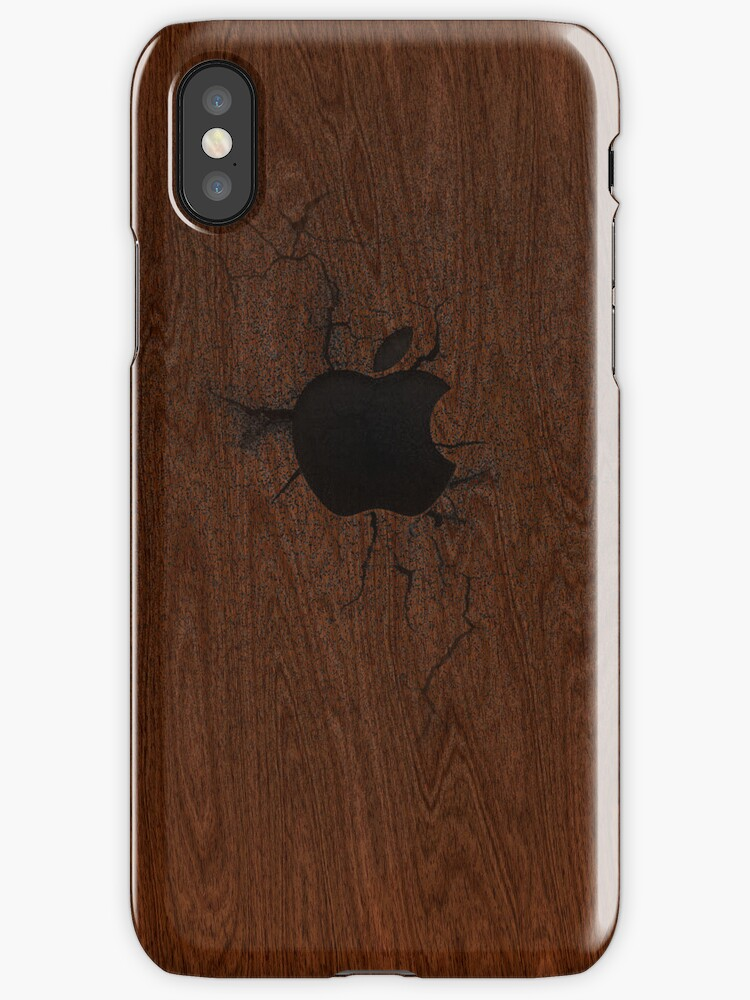 """Retro Wooden iPhone Case by """" RiSH """""""