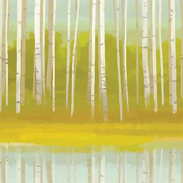 Birch Trees by CoryFreeman