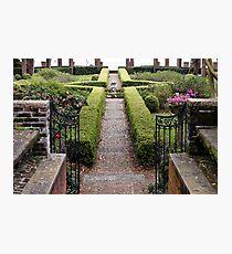 The English Garden Photographic Print