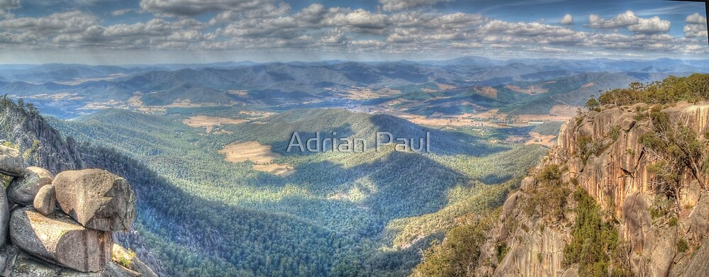Mt Buffalo (Victoria) Panorama by Adrian Paul