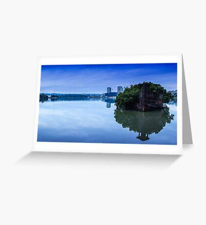 SS Ayrfield Shipwreck Greeting Card