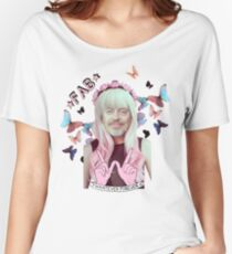 steve buscemi is a pastel goth girl Women's Relaxed Fit T-Shirt