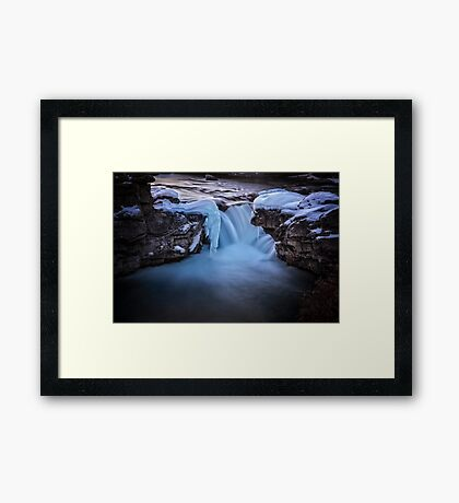 Frozen Splendor Framed Print