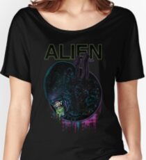 ALIEN XENOMORPH HORROR Women's Relaxed Fit T-Shirt