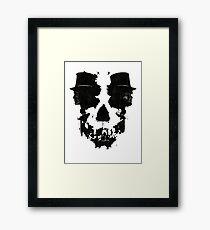 Skull of Jekyll/Hyde Framed Print
