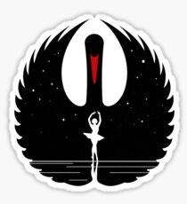 Black Swan Sticker