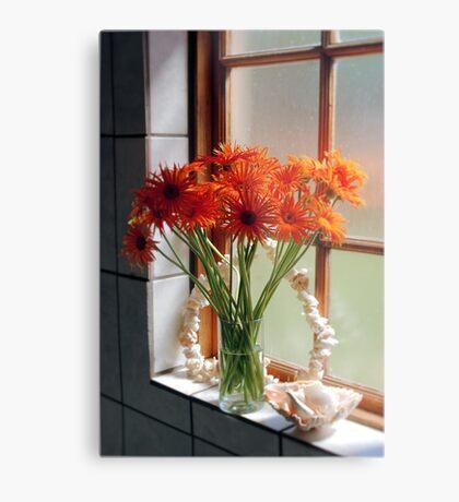 THE BATHROOM WINDOW Metal Print
