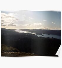 windermere sunny afternoon Poster