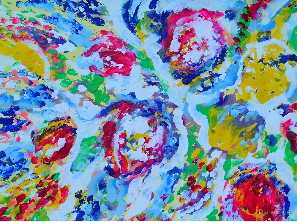 Winter Floral by Diane Zinn