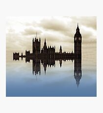Westminster afloat Photographic Print