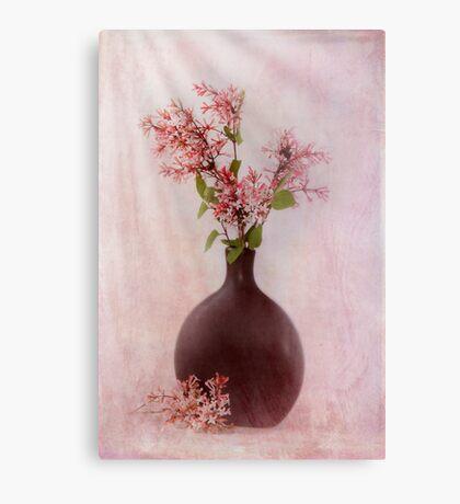 Study In Pink Metal Print