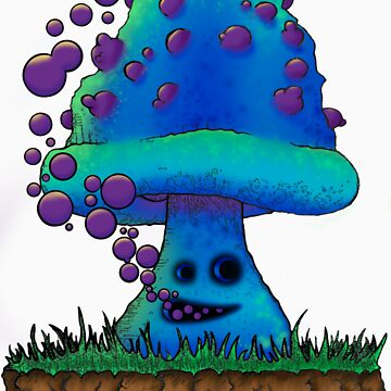 Magic Mushroom Spores by AaronBlythe