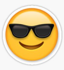Sunglasses Emoji Sticker