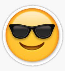 Sonnenbrille Emoji Sticker