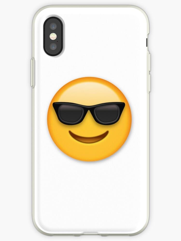 en arrivant acheter populaire meilleures offres sur Coque et skin adhésive iPhone 'Lunettes de soleil Emoji' par Brogy2323