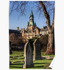 Dunfermline Abbey and City Chambers Poster