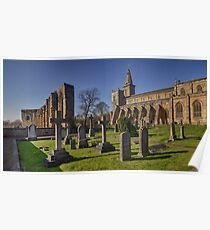Dunfermline Abbey, Graveyard and Palace, Fife Poster