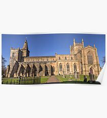 Dunfermline Abbey and Graveyard, Fife Poster