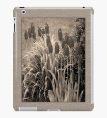 old timey tulips iPad Case/Skin