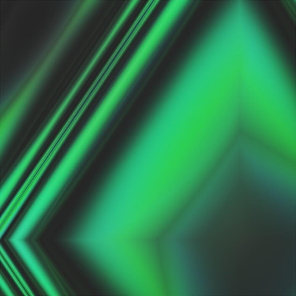 Green Diamond by Dark Frog