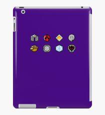 Johto Gym Badges (Pixel) iPad Case/Skin