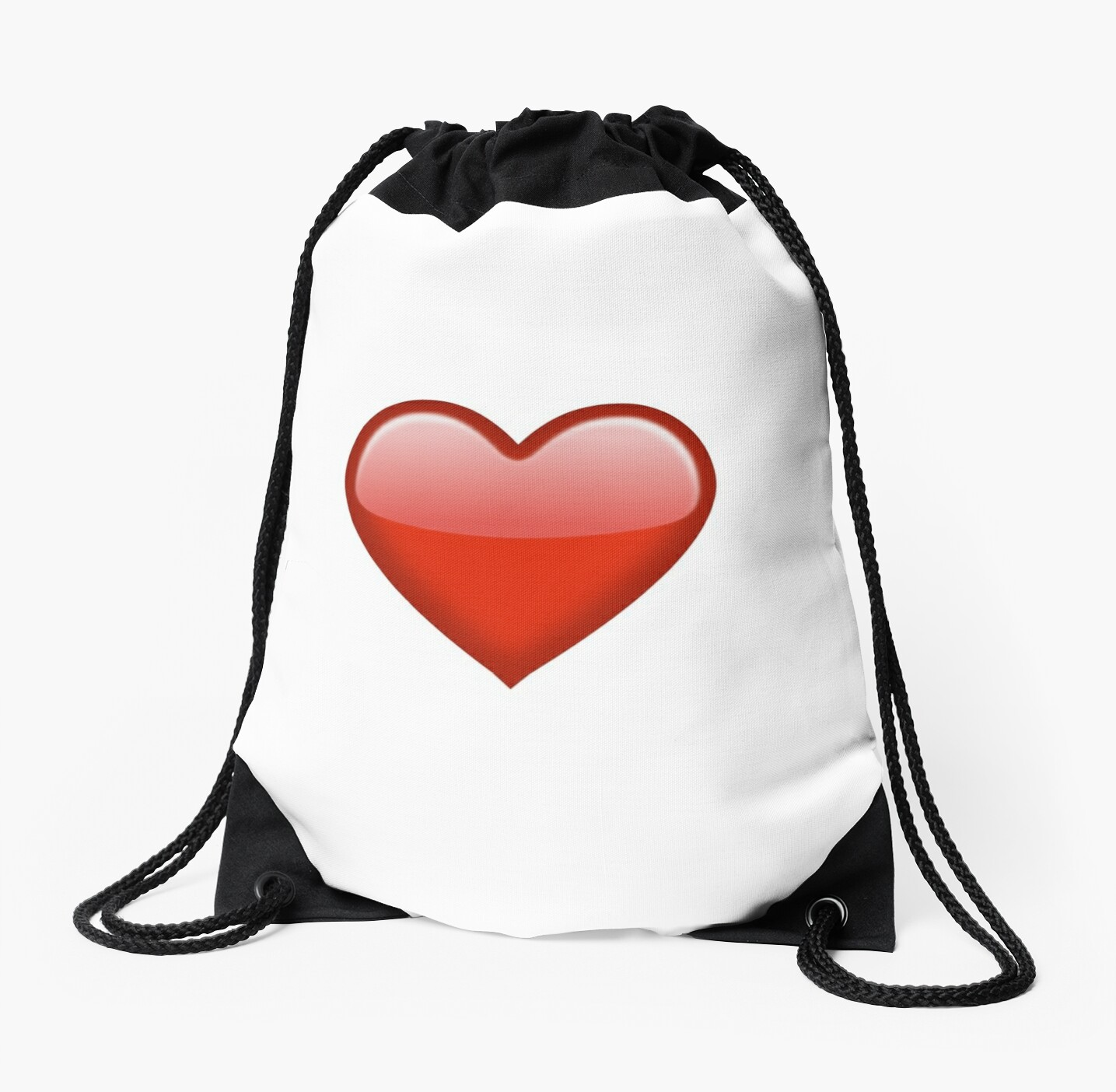 Red Heart Emoji by Brogy2323