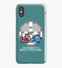 Megaman walking Rush iPhone Case/Skin