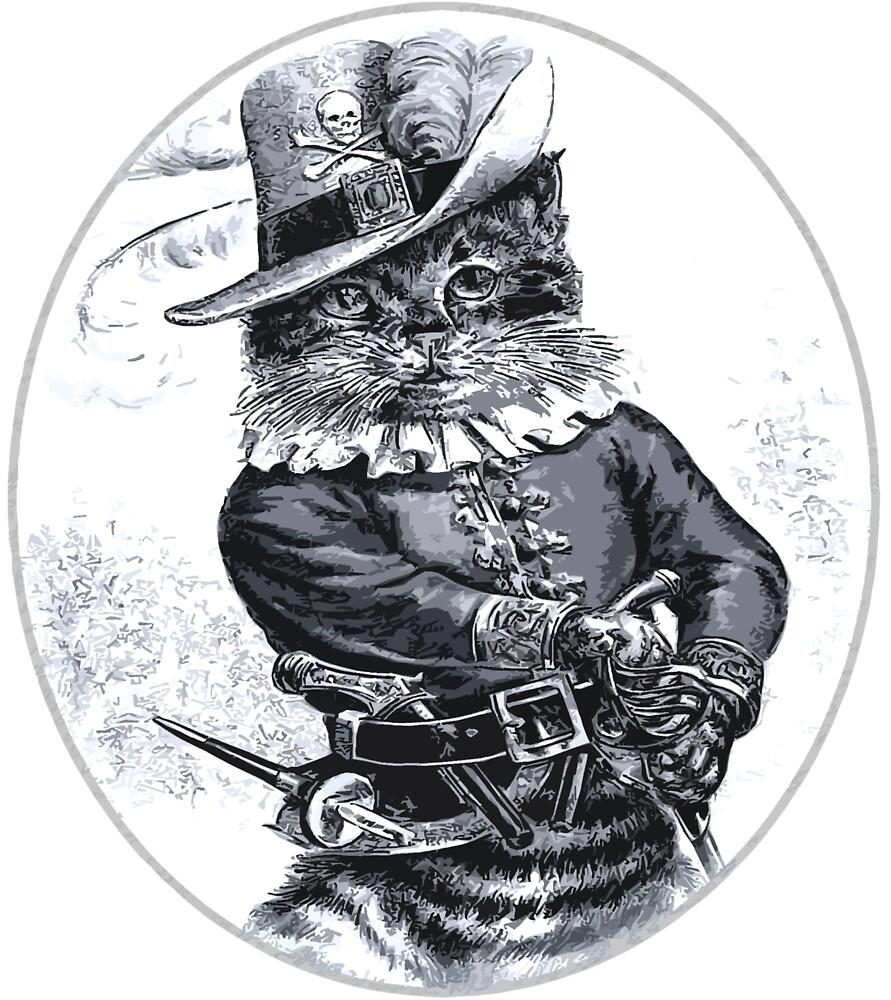 Pirate Cat by Rob Hopper
