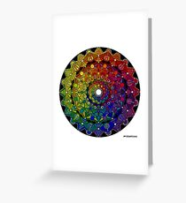 Mandala 46 T-Shirts, Hoodies and Stickers and cases - Jim Gogarty Greeting Card