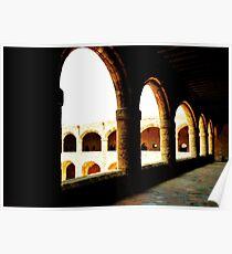 Grecian arches Poster
