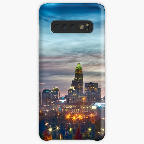 charlotte north carolina skyline morning sunrise Samsung Galaxy Snap Case
