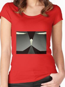 Power On Women's Fitted Scoop T-Shirt