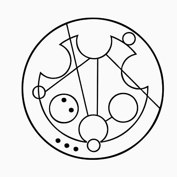"""Bowties are Cool"" Translated into Gallifreyan by timelordscribe"