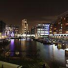 Leeds By Night #3 - Leeds Dock by Graham Geldard