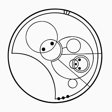 """Allons-y!"" Translated into Gallifreyan by timelordscribe"