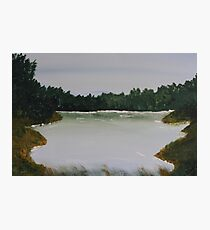 Peaceful Lake Photographic Print