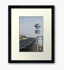 winter rime Framed Print