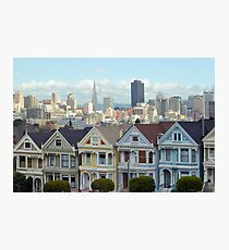 san francisco houses Photographic Print