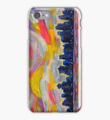 An Evening In Vancouver iPhone Case/Skin