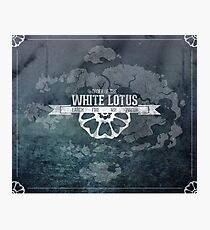 Order of the White Lotus Photographic Print