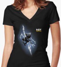 Godspeed Returns Women's Fitted V-Neck T-Shirt