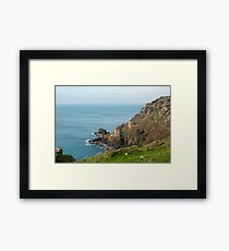 Crown Mines, Cornwall Framed Print