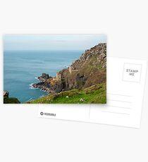 Crown Mines, Cornwall Postcards