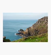 Crown Mines, Cornwall Photographic Print