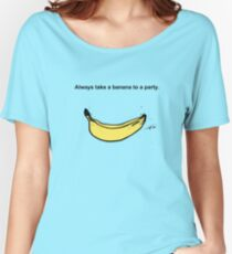 Banana Party Women's Relaxed Fit T-Shirt